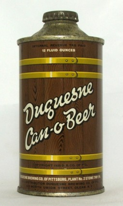 Duquesne Can-o-Beer photo