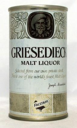 Griesedieck Malt Liquor (Test) photo