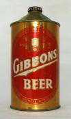 Gibbons Beer photo
