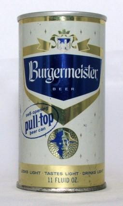 Burgermeister (pull-top) photo